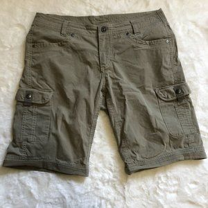 Kuhl women's Splash hiking Cargo Shorts size 8